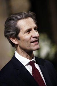 Olivier Brault, Directeur Général de la Fondation, lors du concert pour le prix Liliane Bettencourt pour le Chant Choral, à la Cathédrale Notre Dame de Paris, le 21 novembre 2012.
